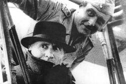 SS Obersturmbannführer Skorzeny with Italy's Mussolini