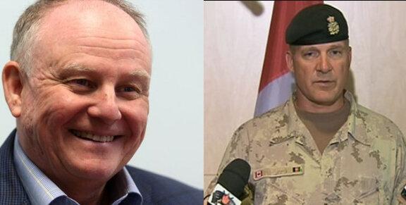 Maj-Gen David Fraser (above left) & Maj-Gen Dean Milner(above right)